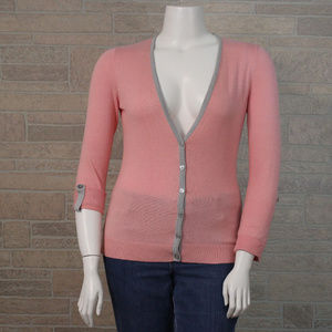 New York & Co Pink Light Cardigan Sweater Jacket